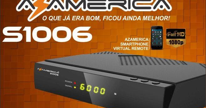 AZ AMÉRICA ATUALIZAÇAO S1006