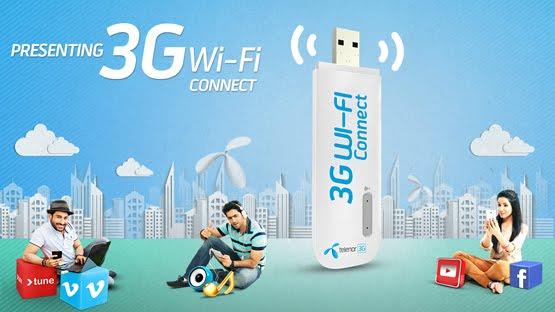 telenor 3g wifi connect
