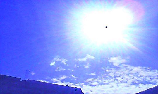agujero de gusano en el Sol
