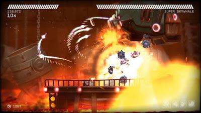 اختيارات في العبة RIVE روبوت القرصنة والقتال
