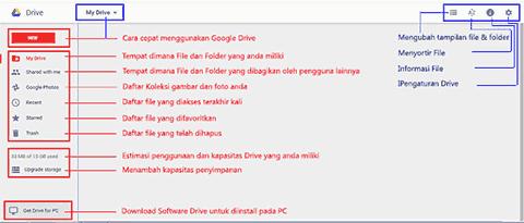 Daftar-menu-dan-toolbar-pada-Google-Drive