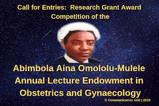 Omololu-Mulele Research Grant Award Competition Guide 2019 [₦3M Grant]