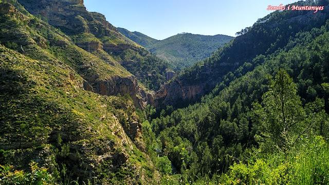 Cañón del río Turia, Sendes i Muntanyes