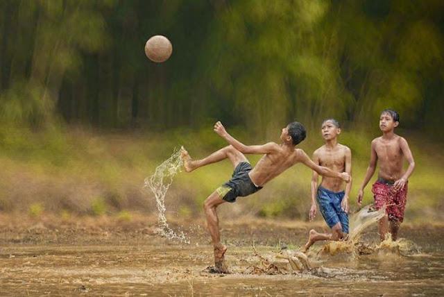 27 Peraturan Dalam Sepak Bola, Versi Anak-Anak Tahun 90 An