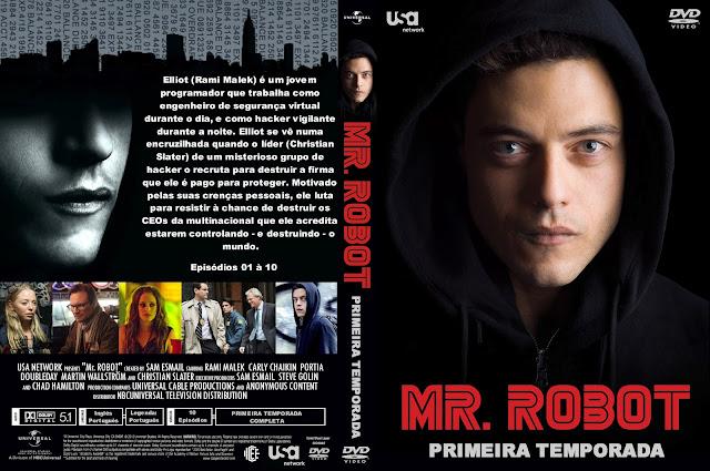 Capa DVD Mr Robot Primeira Temporada