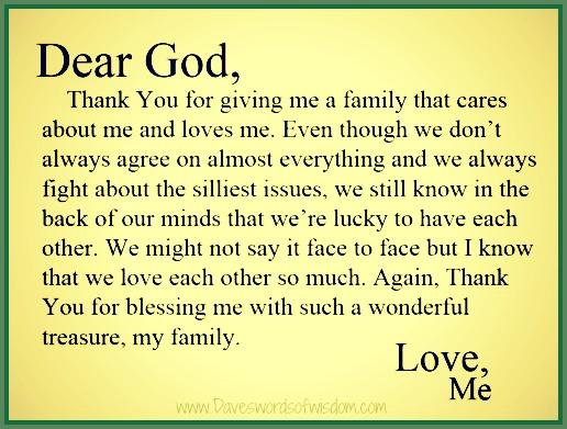 daveswordsofwisdom com a message of thanks