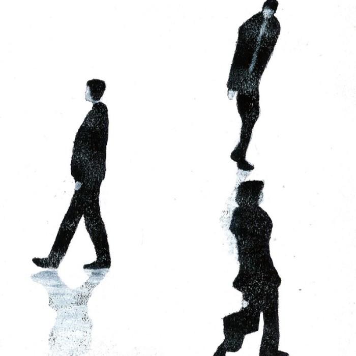 Серые фигуры. Serge Rat
