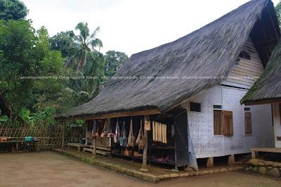 Rumah tradisional Kampung Naga