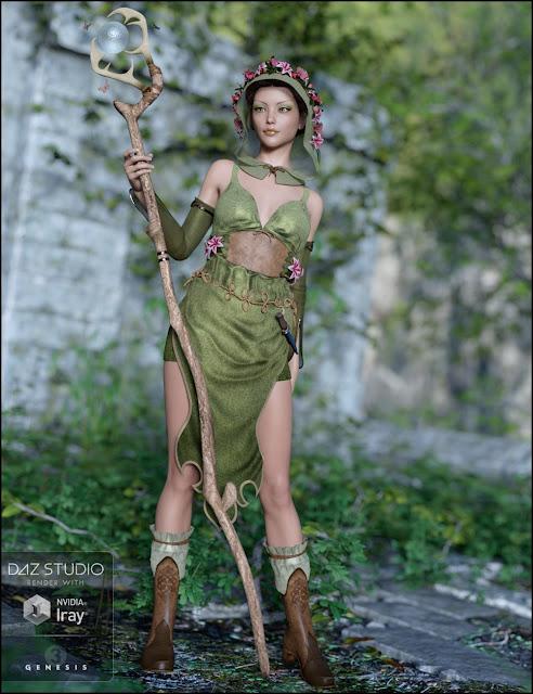Woodland Magic for Genesis 3 Female