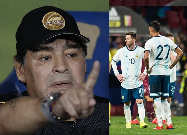 Diego Maradona savages Argentina flops as class of 2019 told they are not fit to wear the shirt