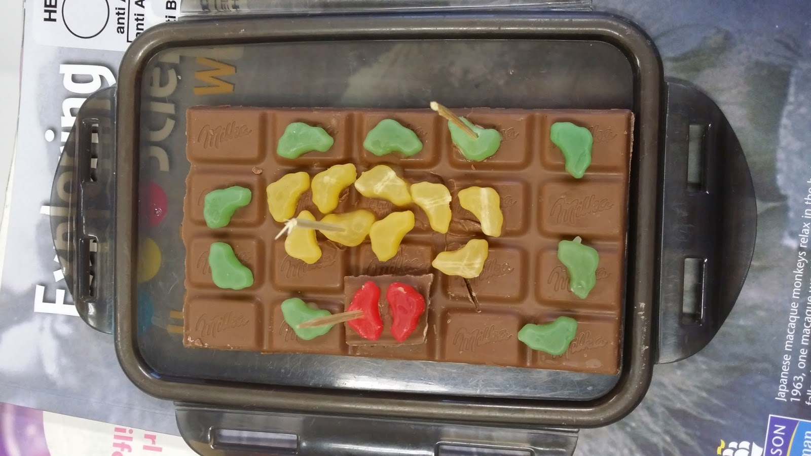 Science with Mr. Copil: Edible Cells