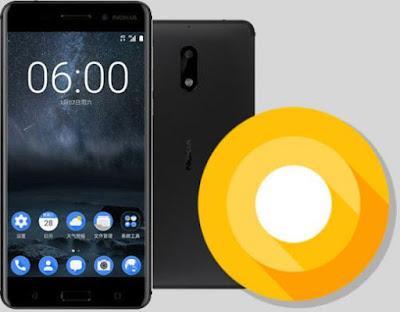 Cara Update Android 8.0 Oreo di Nokia 6