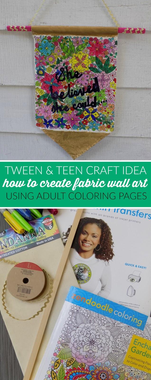 one savvy mom nyc area mom blog how to create fabric wall art