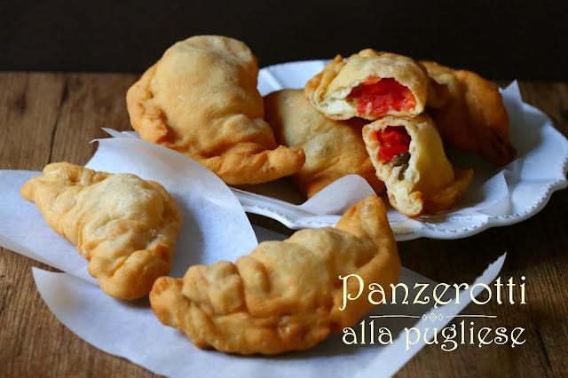 Die Blogpause pausiert mit Streetfood aus Apulien: Panzerotti alla pugliese
