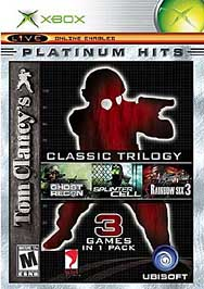 Tom Clancy's Classic Trilogy (Xbox, 2004) original xbox softmod kit