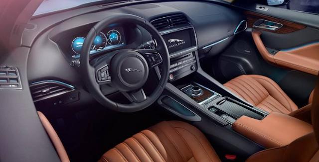 The 2017 Jaguar F-Pace Interior