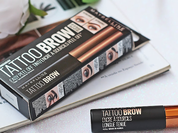Tattoo Brow Easy Peel Off Tint by Maybelline Review