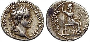 Denario del tributo - moneda bíblica