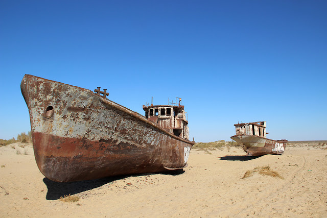 Aral Sea Kazakhstan/Uzbekistan