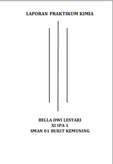 Bella Dwi Lestari Laporan Praktikum Kimia Kalorimetri