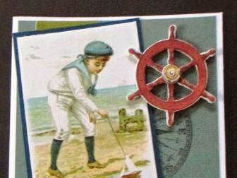 Sailor Boy Card