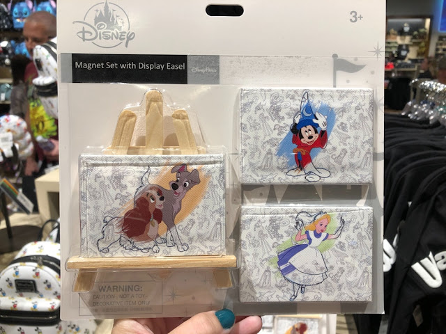 Ink & Paint Magnet Set with Display Easel