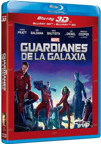 Guardianes de la Galaxia 3D SBS Latino