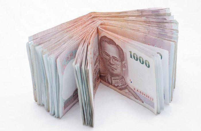Тайские бат (банкноты в 1000 бат)