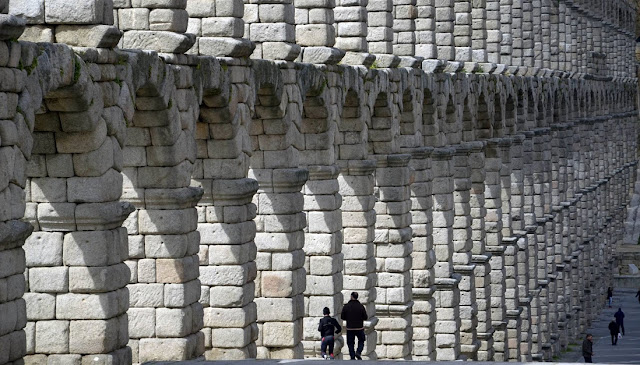 Age of Spain's Segovia aqueduct revised after discovery of ancient coin