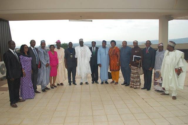 NSE Leadership visit new SGF, seek closer collaboration with FG