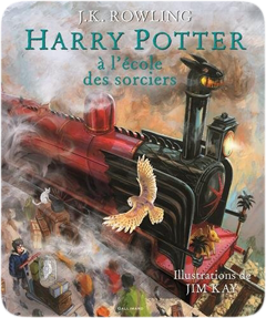 Harry Potter, illustré, tome 1 : Harry Potter à l'école des sorciers de J. K. Rowling et Jim Kay