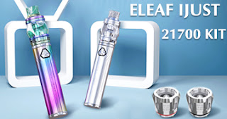 Cheap eleaf ijust 21700 kit with ello duro atomizer