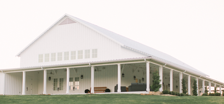 A Romantic Farmhouse Wedding with a Must-See Venue