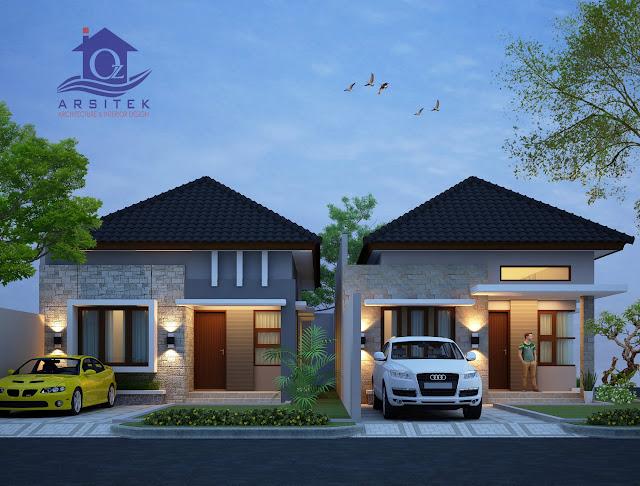 Desain Eksterior Rumah Bapak Sutan Khalifah di Sumatera