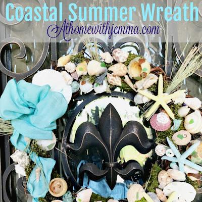 DIY -Summer Coastal Wreath