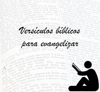 Versículos para evangelismo