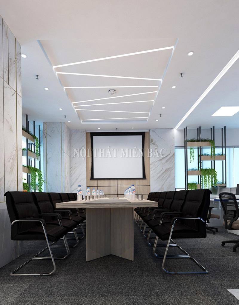 Với một thiết kế nội thất phòng họp cao cấp, hiện đại, hình ảnh doanh nghiệp cũng sẽ trở nên tích cực hơn