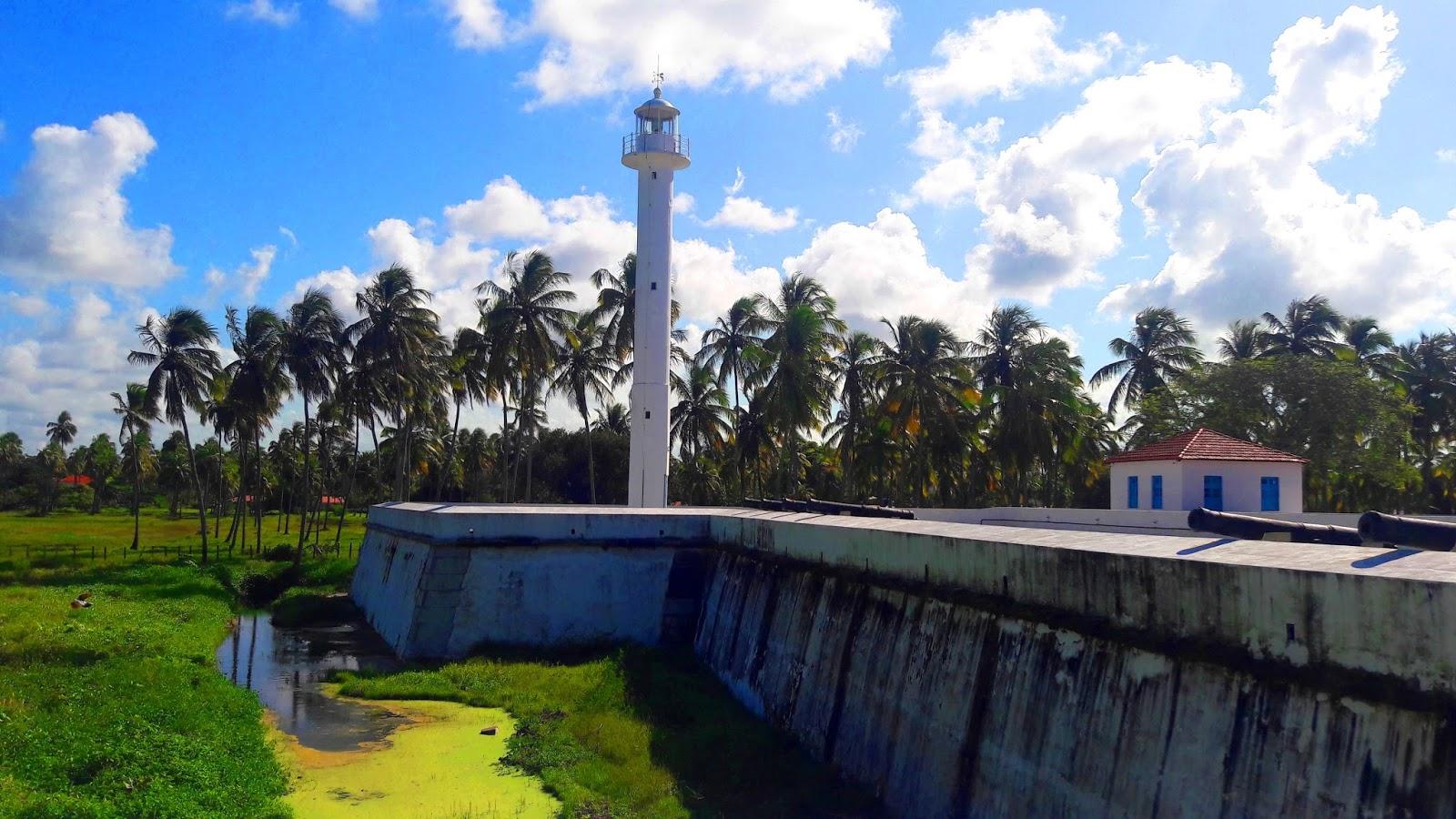 Forte de Tamandaré em Pernambuco