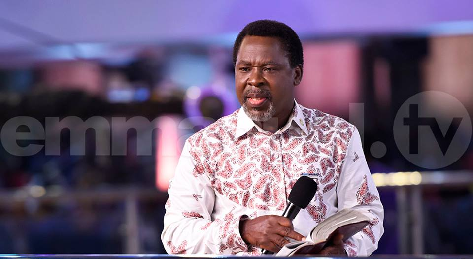 Welcome to Kelvin Emmanuel Blog!: Prophet T B Joshua introduce