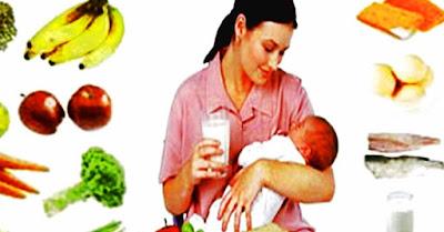 Tips diet untuk ibu hamil dan menyusui