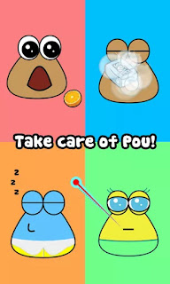 Download Game Pou v1.4.73 MOD (Unlimited Coins) APK