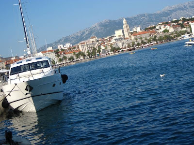 Riva and Marina of Split