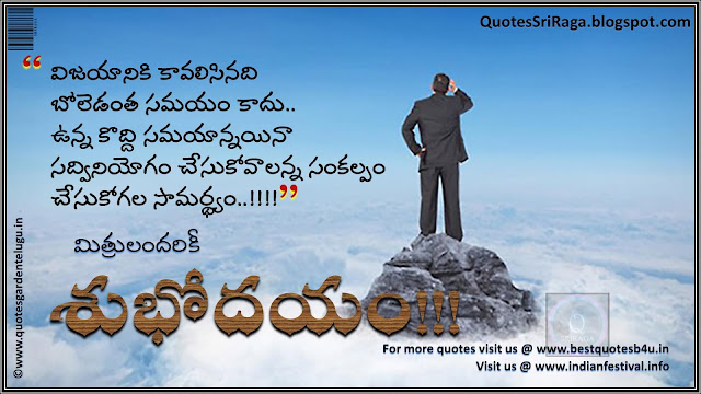 Telugu Good Morning Greeting Cards for Best Facebook