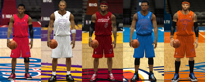 NBA 2K13 Christmas Jerseys Patch Pack