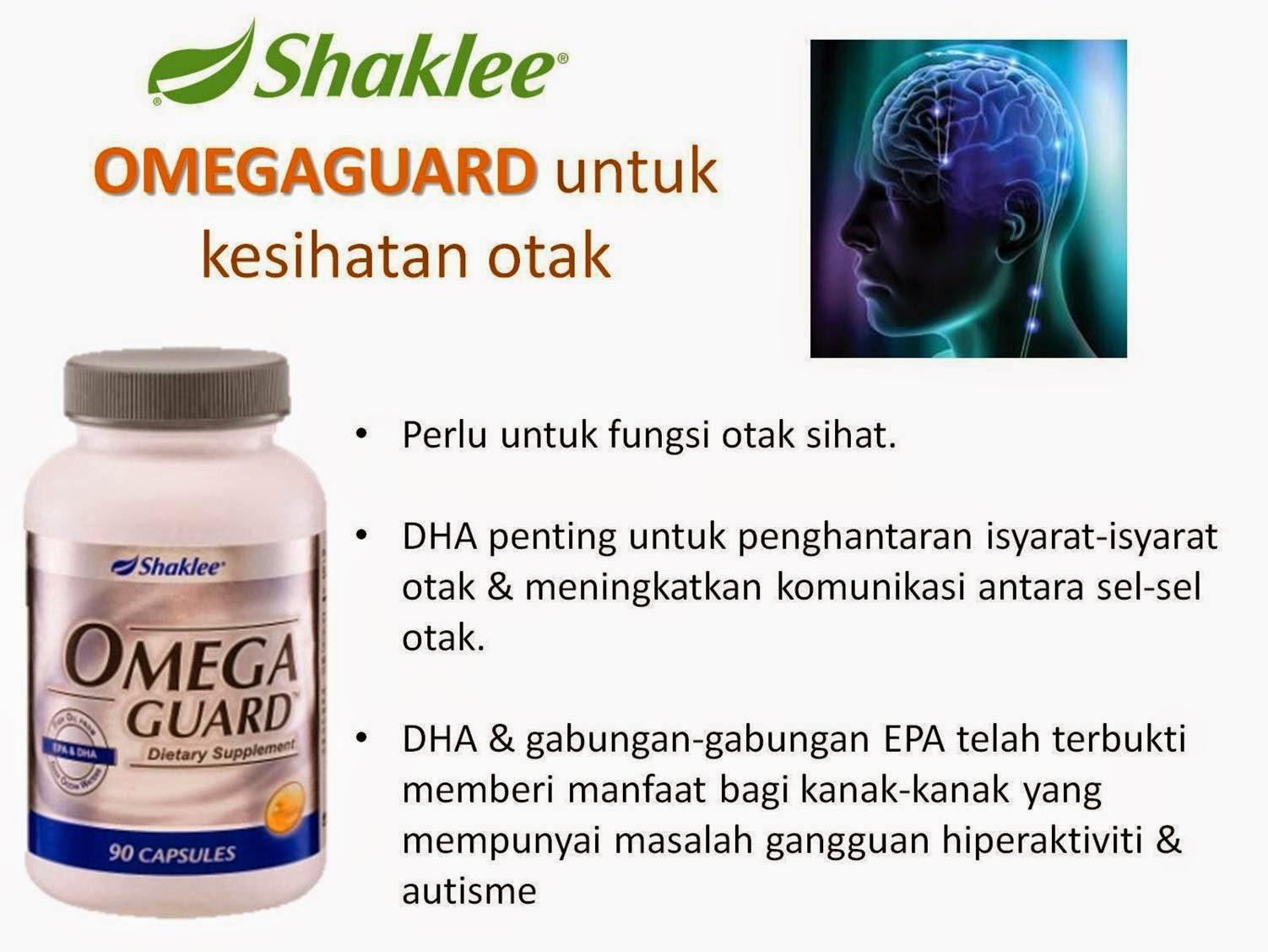 omega guard shaklee penting untuk perkembangan otak kanak-kanak