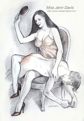 Sardax spanking art