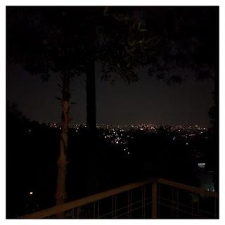city view malam hari - villa maria dago village bandung