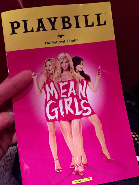 Mean Girls Playbill