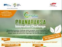 [Gratis] Pranaraksa Innovation Challenge 2018 di Astra