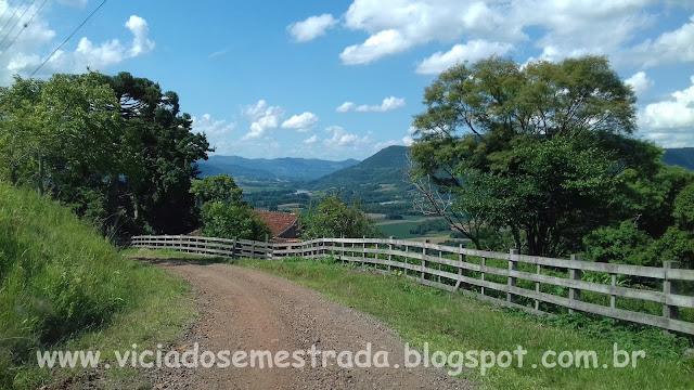 Subida do Morro São José, Arroio do Meio, Vale do Taquari